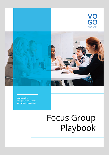 focus group playbook cover page